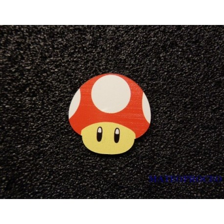 Mushroom Mario Toad Color