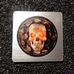 Baldurs Gate Retro PC Logo Badge [491]
