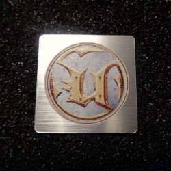 Unreal Retro PC Logo Case Badge [492]