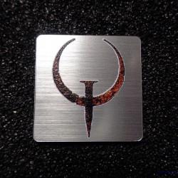 Quake Retro PC Logo Case Sticker Badge [493]