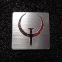 Quake Retro PC Logo Label Decal Case Sticker Badge [493]