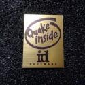 Quake Retro PC Logo Label Decal Case Sticker Badge [493c]