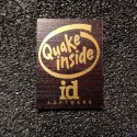 Quake Retro PC Logo Label Decal Case Sticker Badge [493d]