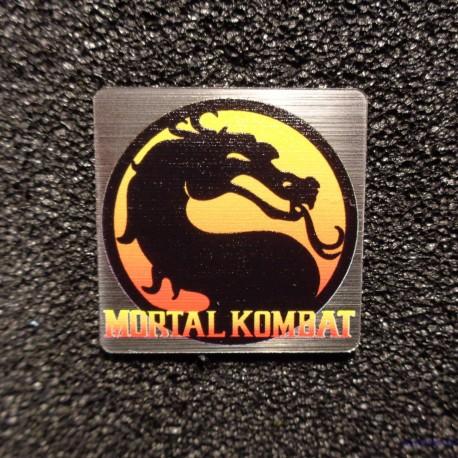 Mortal Kombat Retro PC Case Sticker Badge [496]