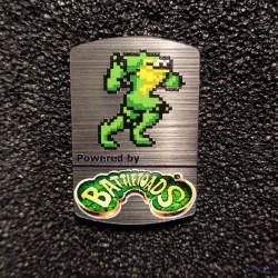 Battletoads 8-bit NES Nintendo Case Sticker Badge [495]