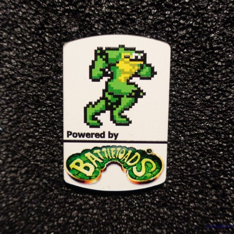 Battletoads 8-bit NES Nintendo Logo Label Decal Case Sticker Badge [495]