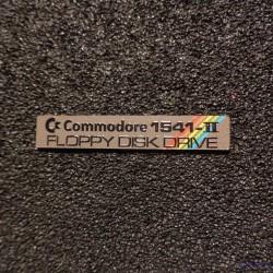 Commodore 1541 II Badge Logo color [506c]