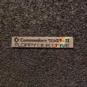 Commodore 1541 II Label / Aufkleber / Badge / Logo color 44mm x 9mm [506c]
