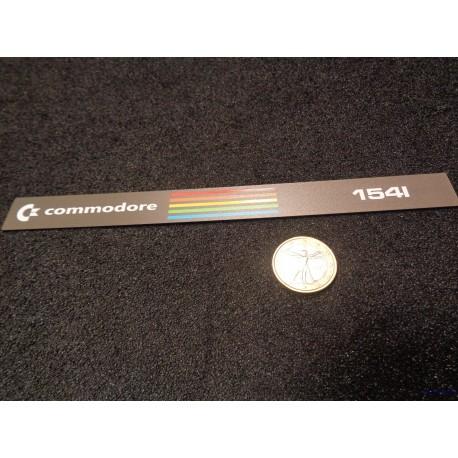 Commodore 1541 Sticker Badge Logo color [505b]