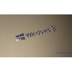 Windows 8 Label / Aufkleber / Sticker / Badge / Logo 30x6mm [072]